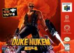 Duke Nukem 64 Box Art Front